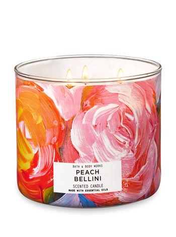 - PEACH BELLINI3-Wick Candle$24.50 CAD