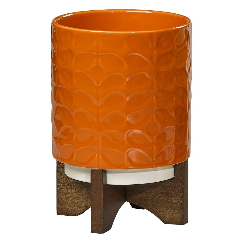- Ceramic Pot with Stand $79 This is a cute centerpiece to add to any dinning room table and is available at chapters.