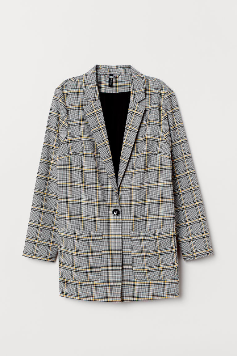 - Checked Jacket$59.99