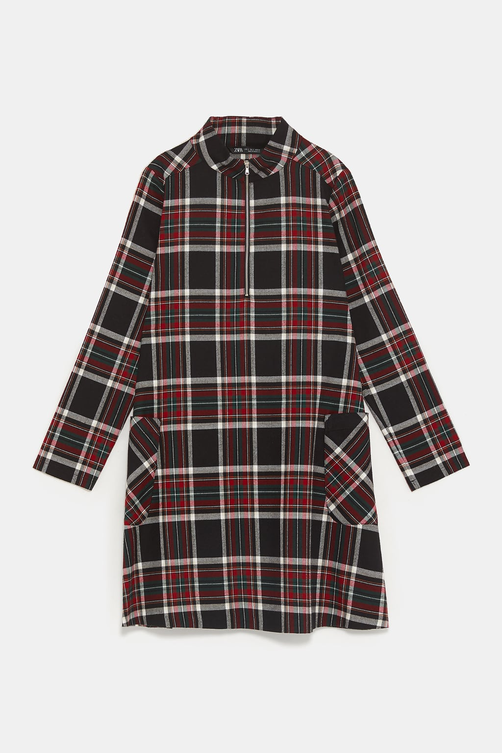 - PLAID DRESS49.90 CAD