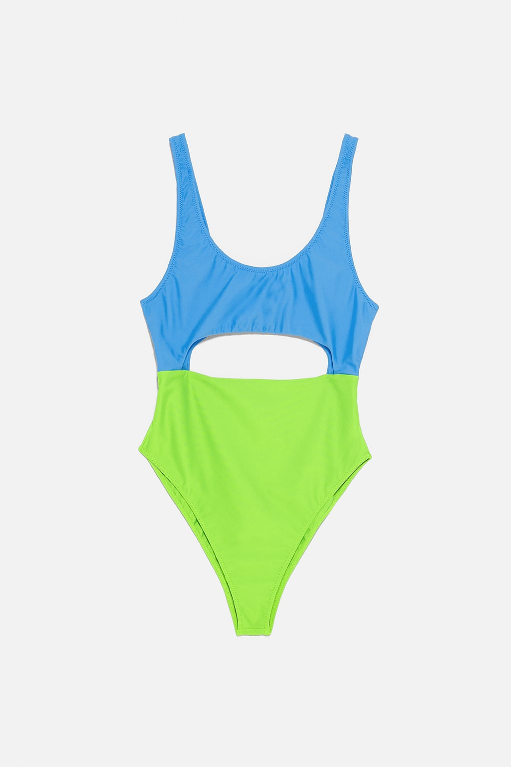 - COLOUR BLOCK SWIMSUIT $39.90 CAD