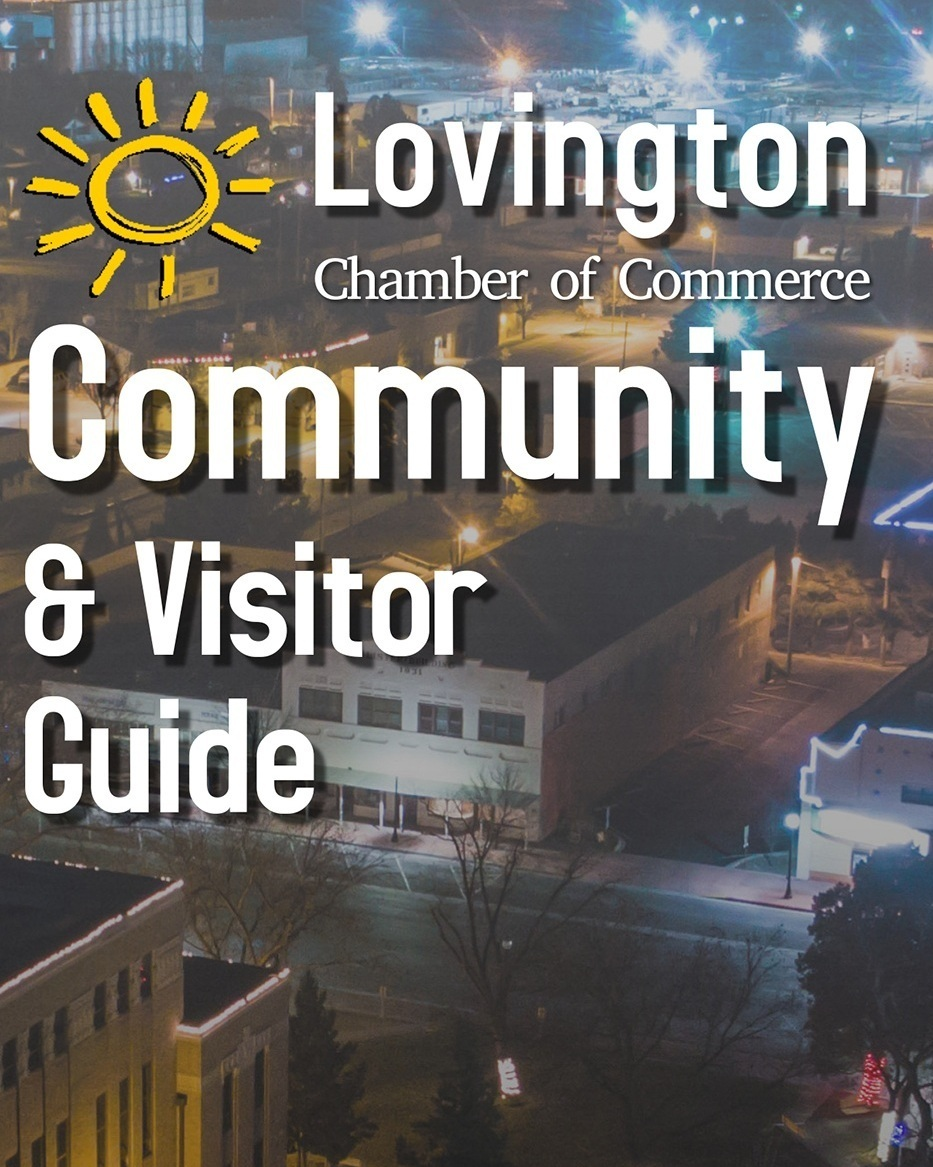 Welcome to Lovington - See you Soon!