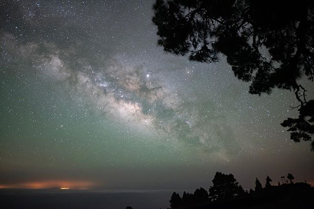 """We are nothing but stardust trying to make our way back to the stars."" La Palma, Canary Islands, May 28th, 2019. For Dave. #canaryislands #lapalma #stars #milkyway"