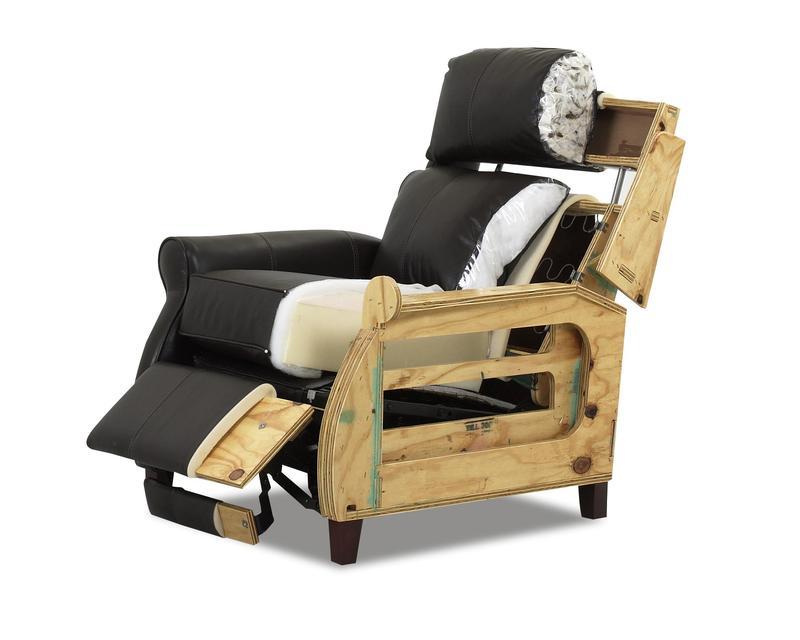 Comfort Designs Leslie Cut-away Recliner