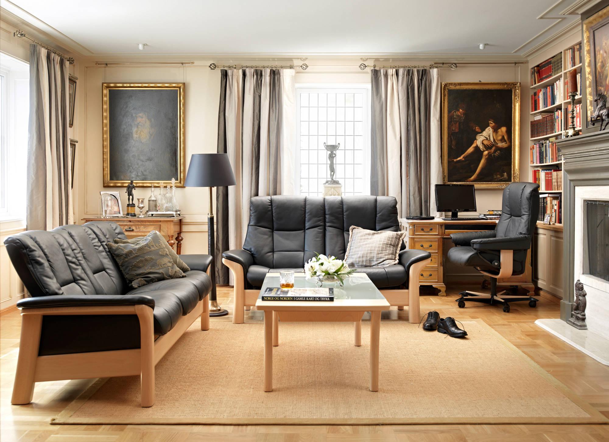 Stressless Buckingham Sofa & Love