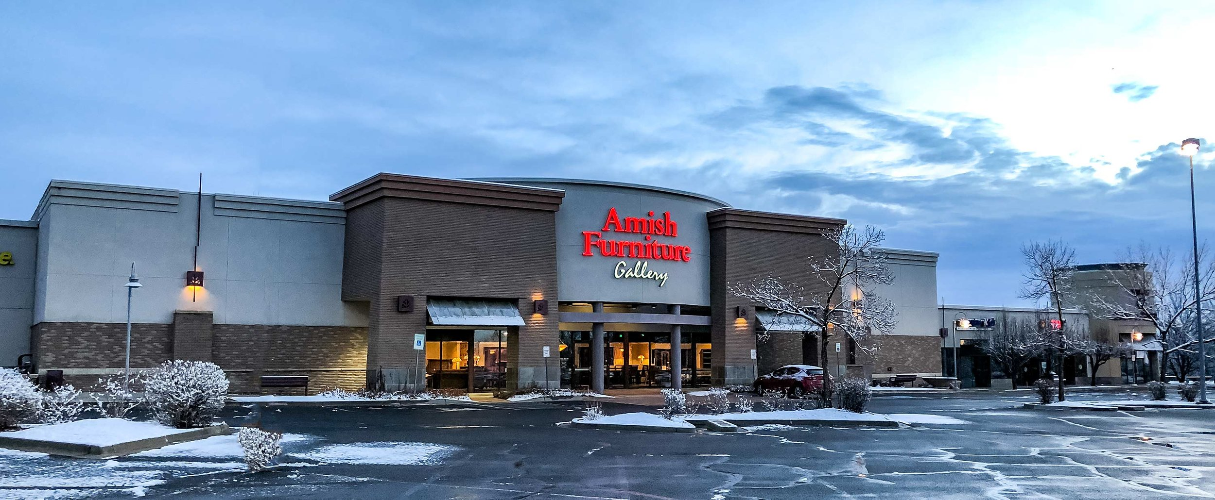 A winter morning at our Westminster Colorado location.