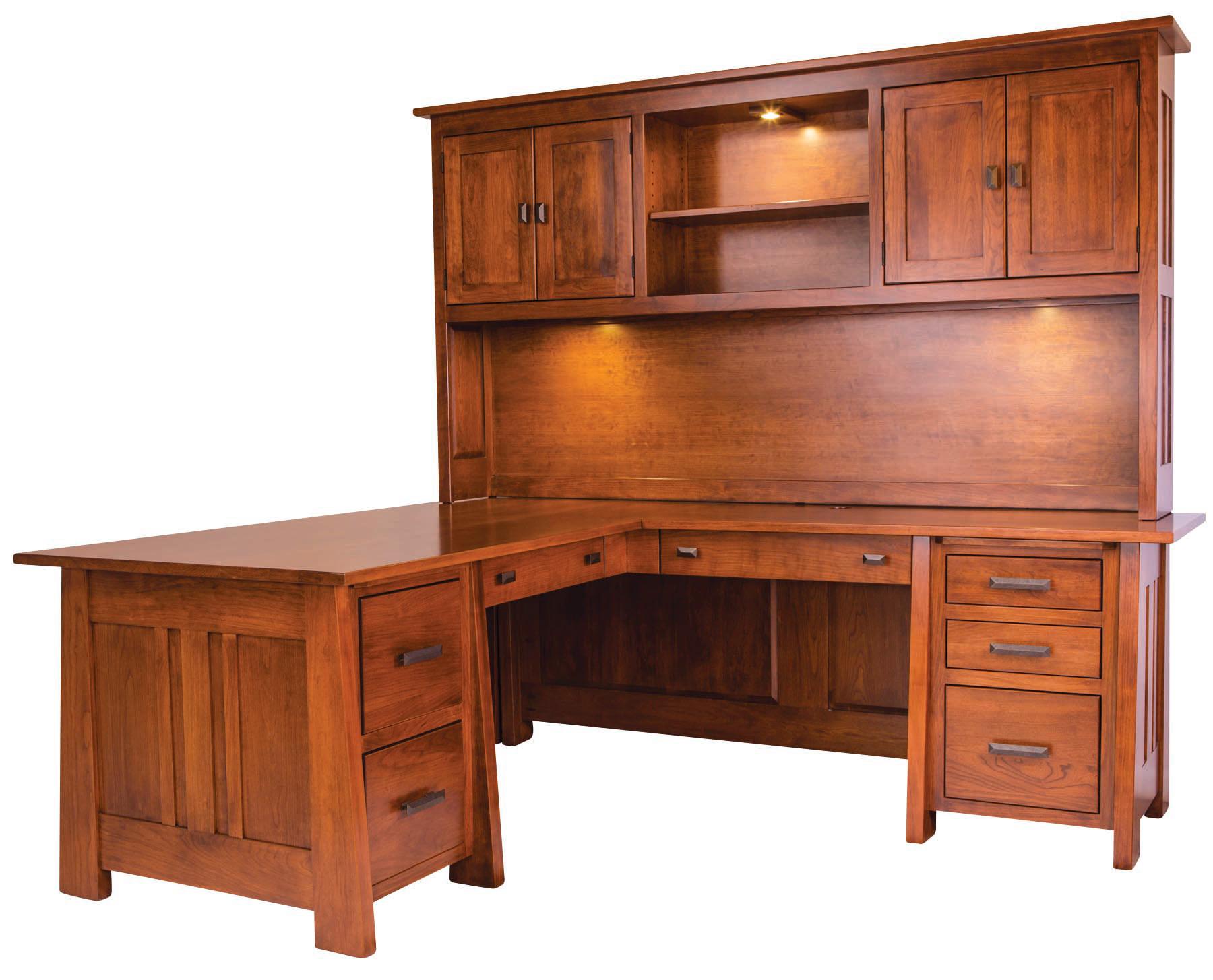 Freemont L Desk