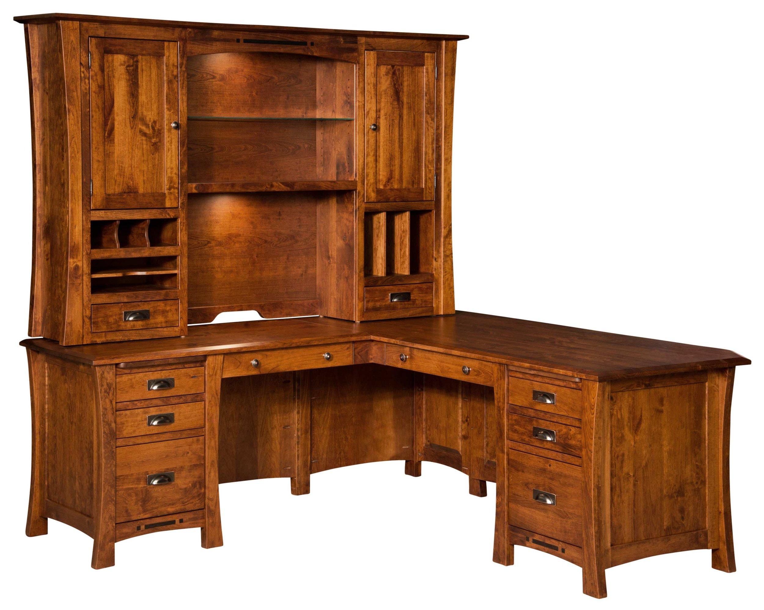 Arts and Crafts L Desk