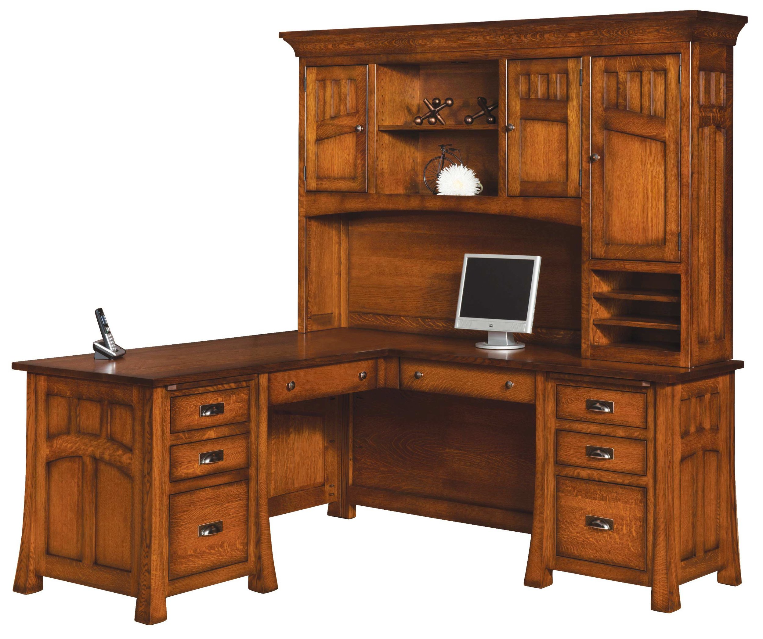 Bridgefort L Desk