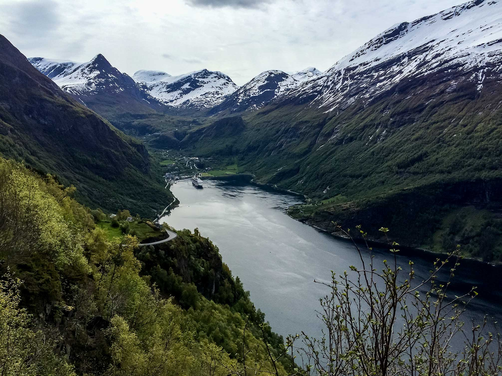 Norway. Not far from where Ekornes manufacturers Stressless recliners and sofas.