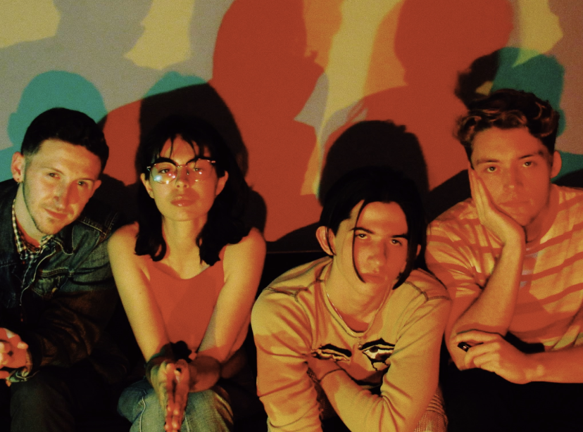 The Band photographed by Sofia Porzio. Left to Right: Raven, Carli, Kyle, and Jake.