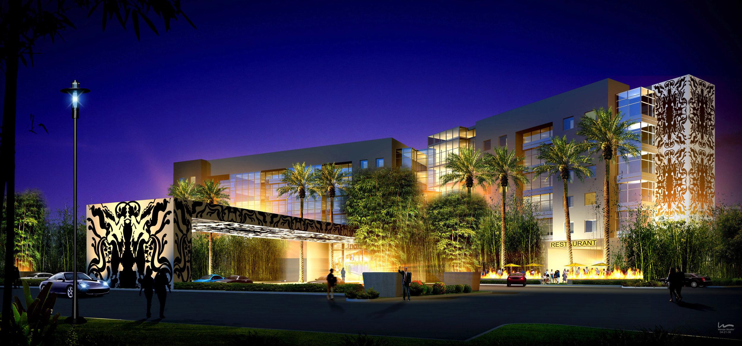 CONCEPT: Atrium Suites Hotel  - Las Vegas, NV