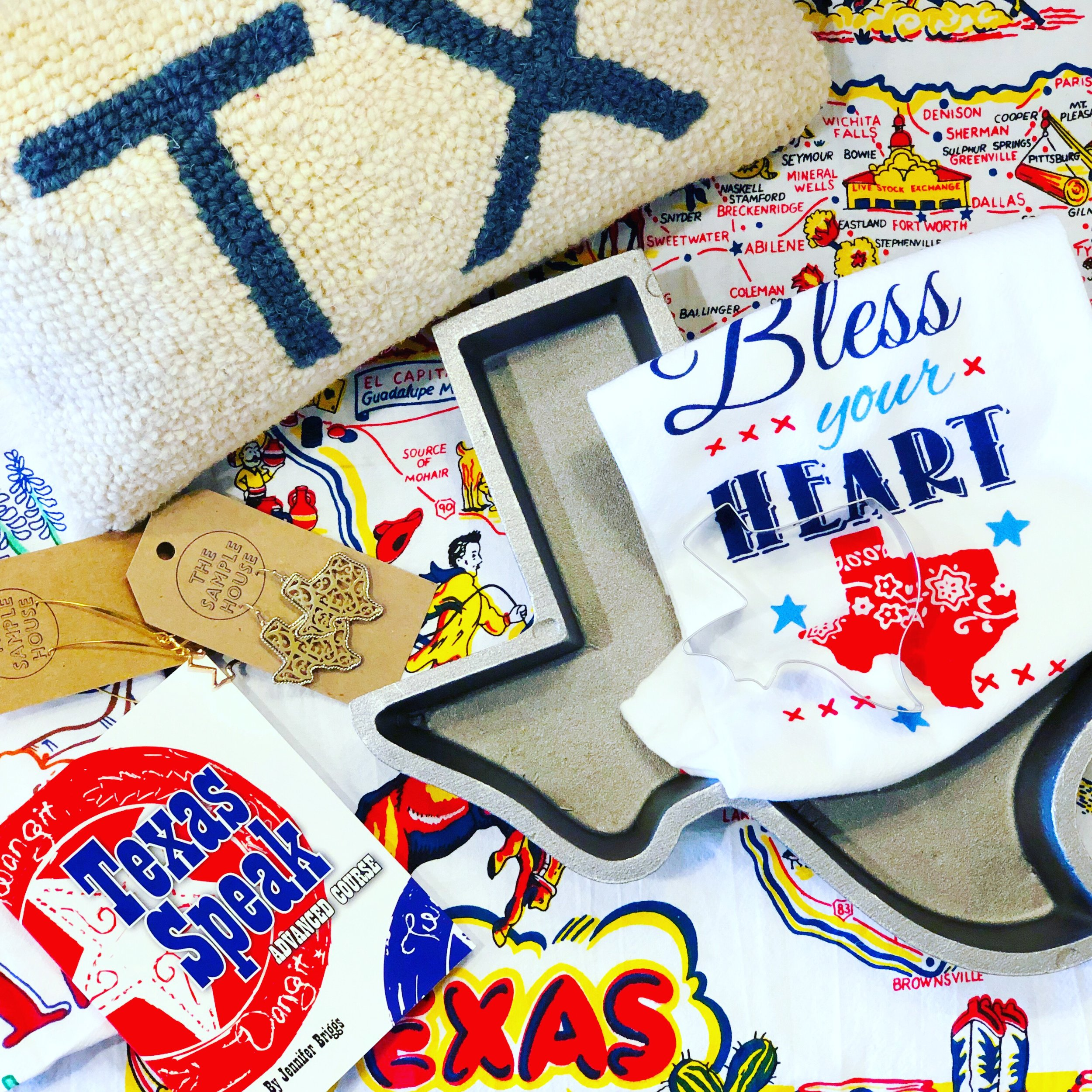 Texas Pride - We love a theme. Texas themed products are wildly popular with our customers.