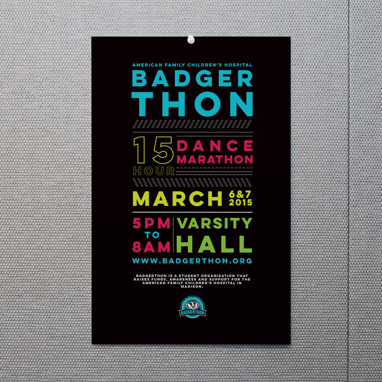 Badgerthon Poster