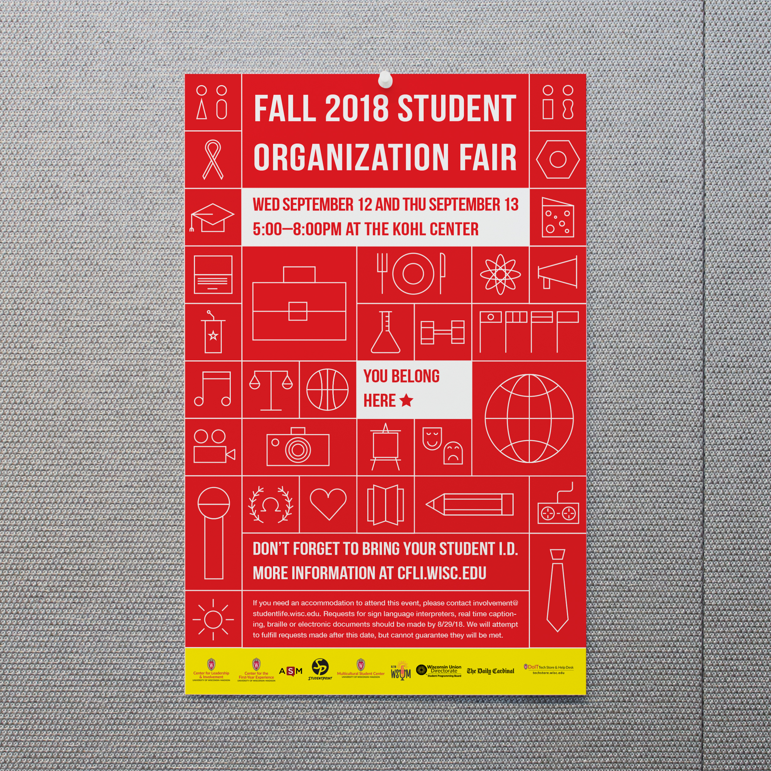 Fall 2018 Student Org Fair Poster