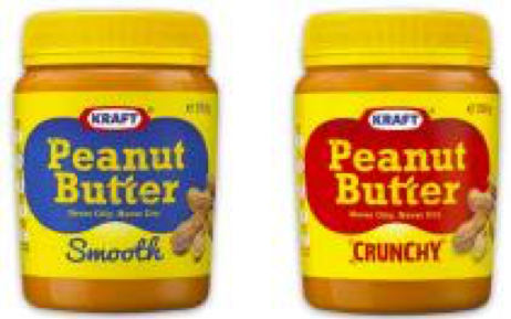 This is Kraft's peanut butter as it was sold in Australia until late 2016.