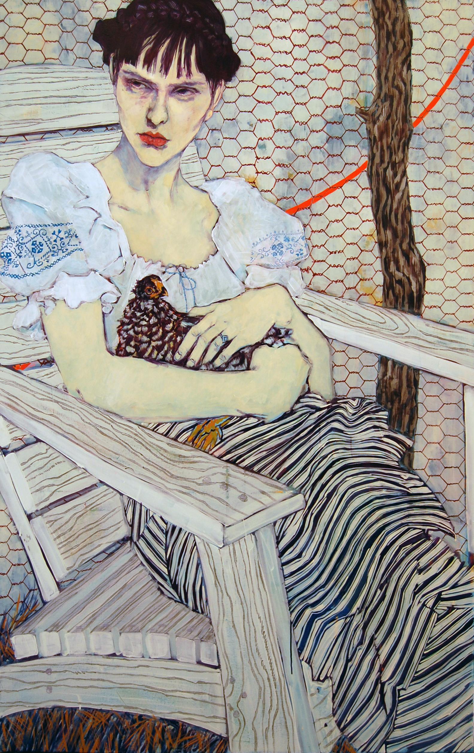 Study of Olga Alexandrovskaya