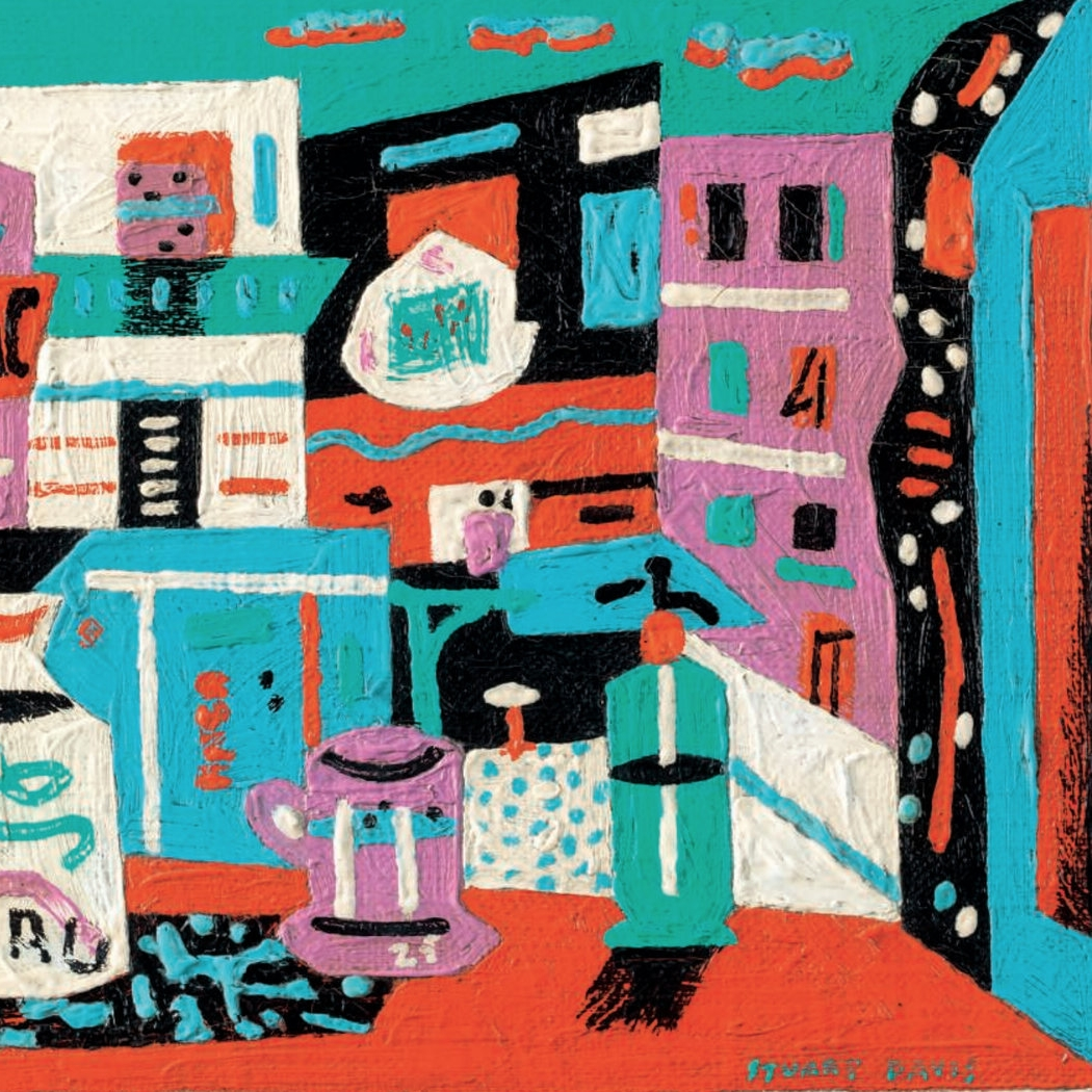 Still Life in the Street, Stuart Davis, oil on canvas, 1941.jpg