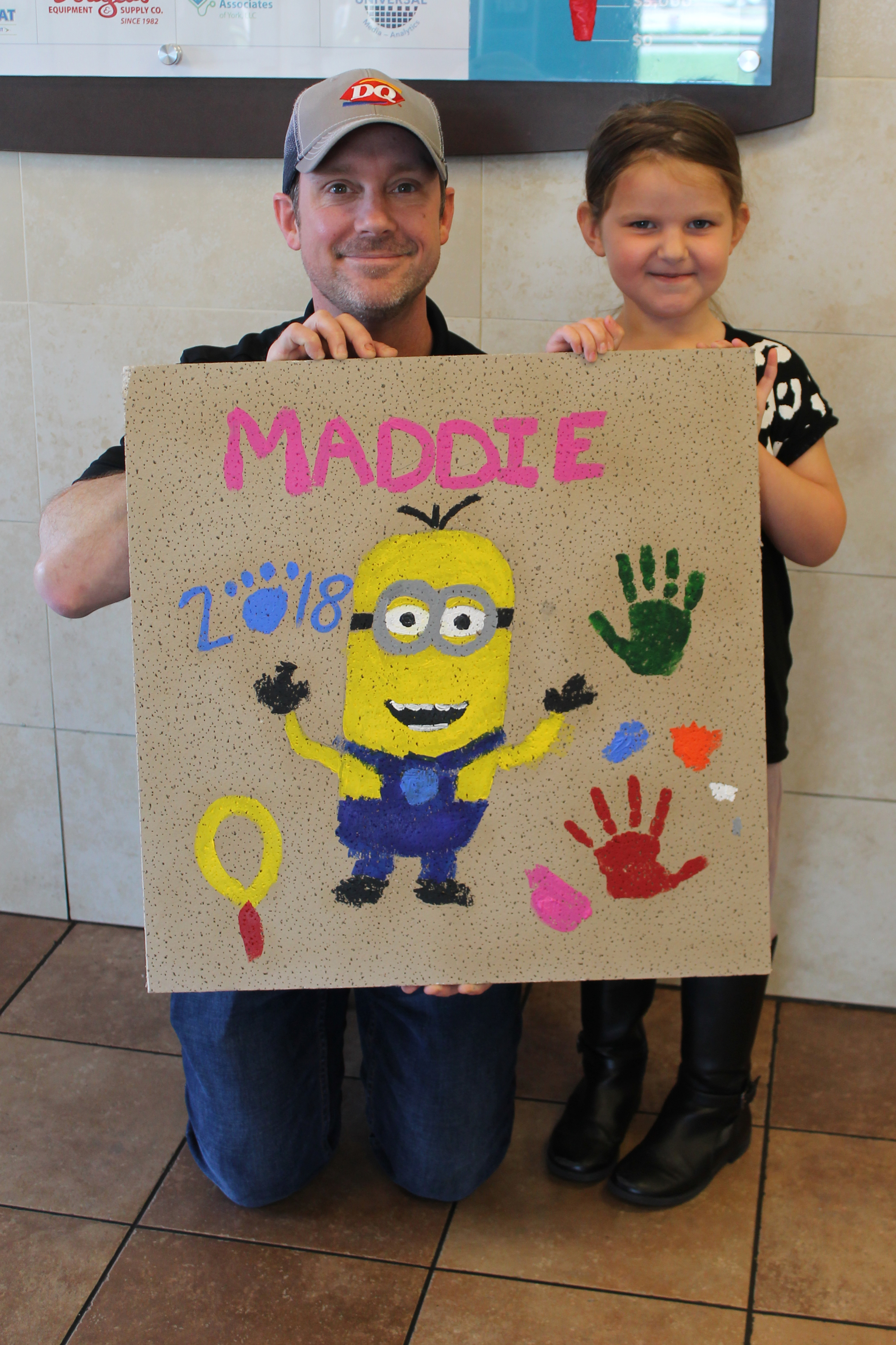 Madeline, Age 3, was saved by Penn State Children's Hospital when she was run over by a car. CMN was there for every moment caring for her, her family, equipment and funding research.