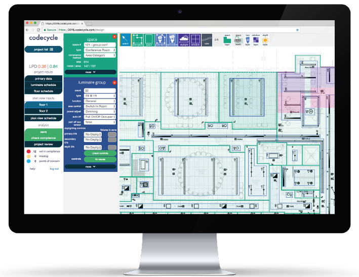 Design Teams - CodeCycle's online compliance assistance tool is used by design teams to help them comply with the energy code (e.g. Title 24)early in their design process.Designer using CodeCycle? Log-in to the toolWant to use CodeCycle on your project? Let us know