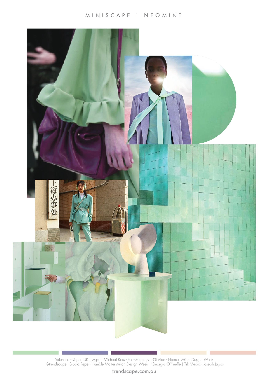 @trendscape - miniscape - neo mint
