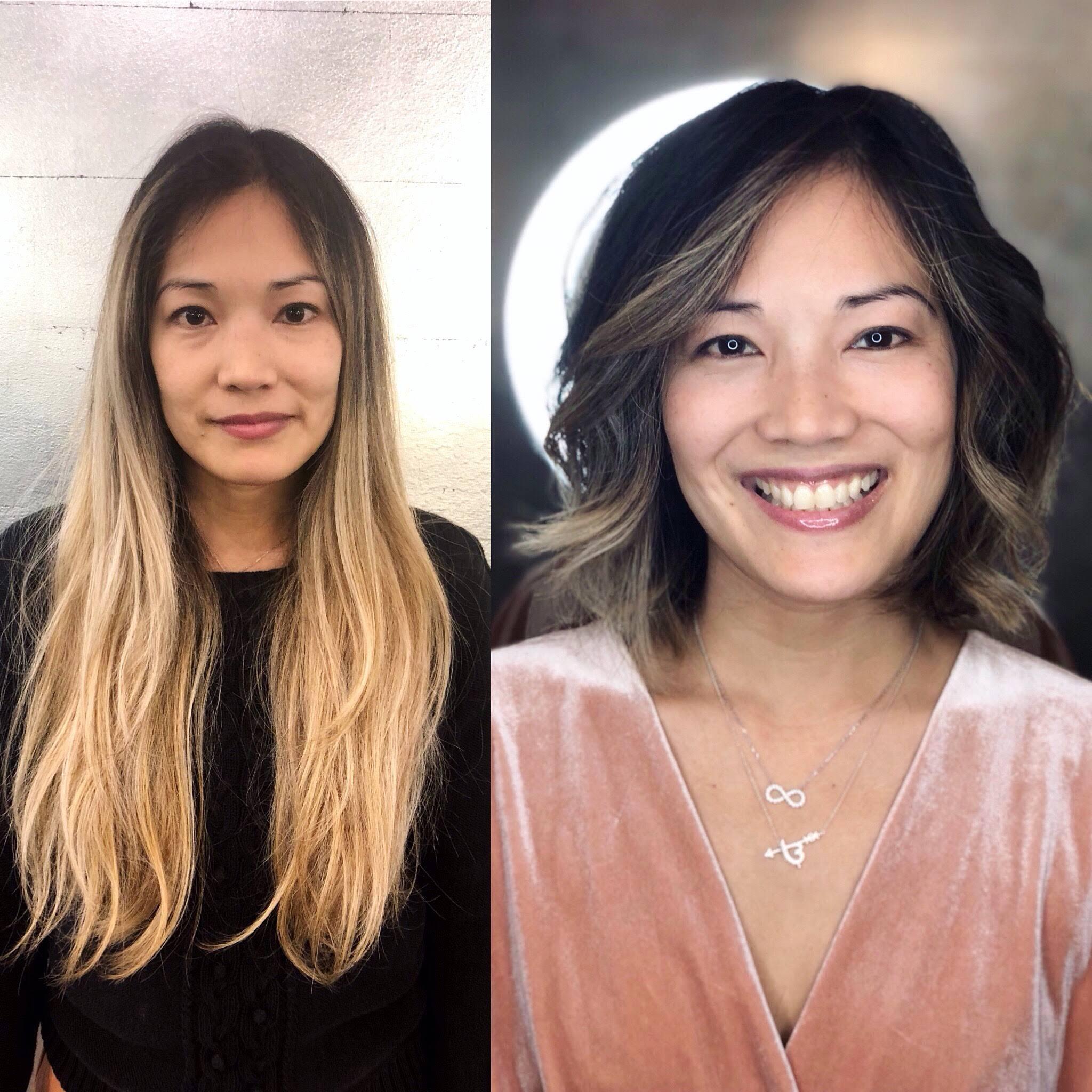 (16)lob, hair transformation, balayage, before and after, beachy waves.jpg