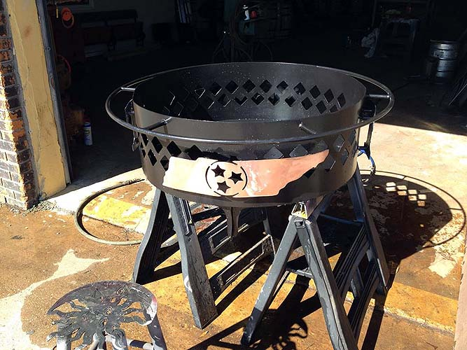 Tennessee Fire Pit, Custom