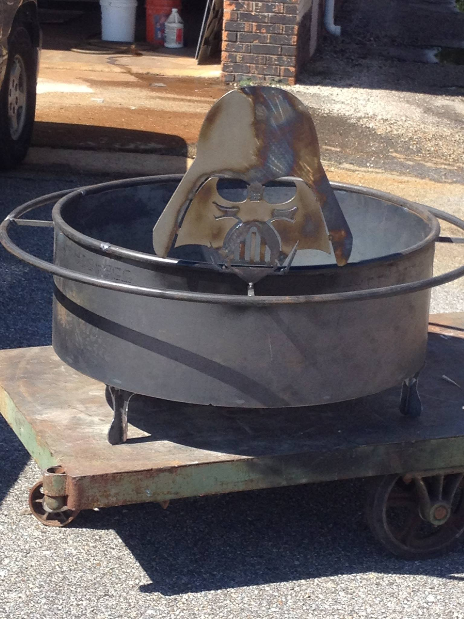 Star Wars Fire Pit, Custom