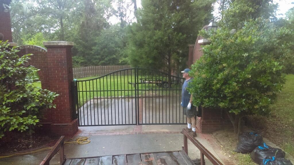 Residential Automatic Iron Gate, Custom