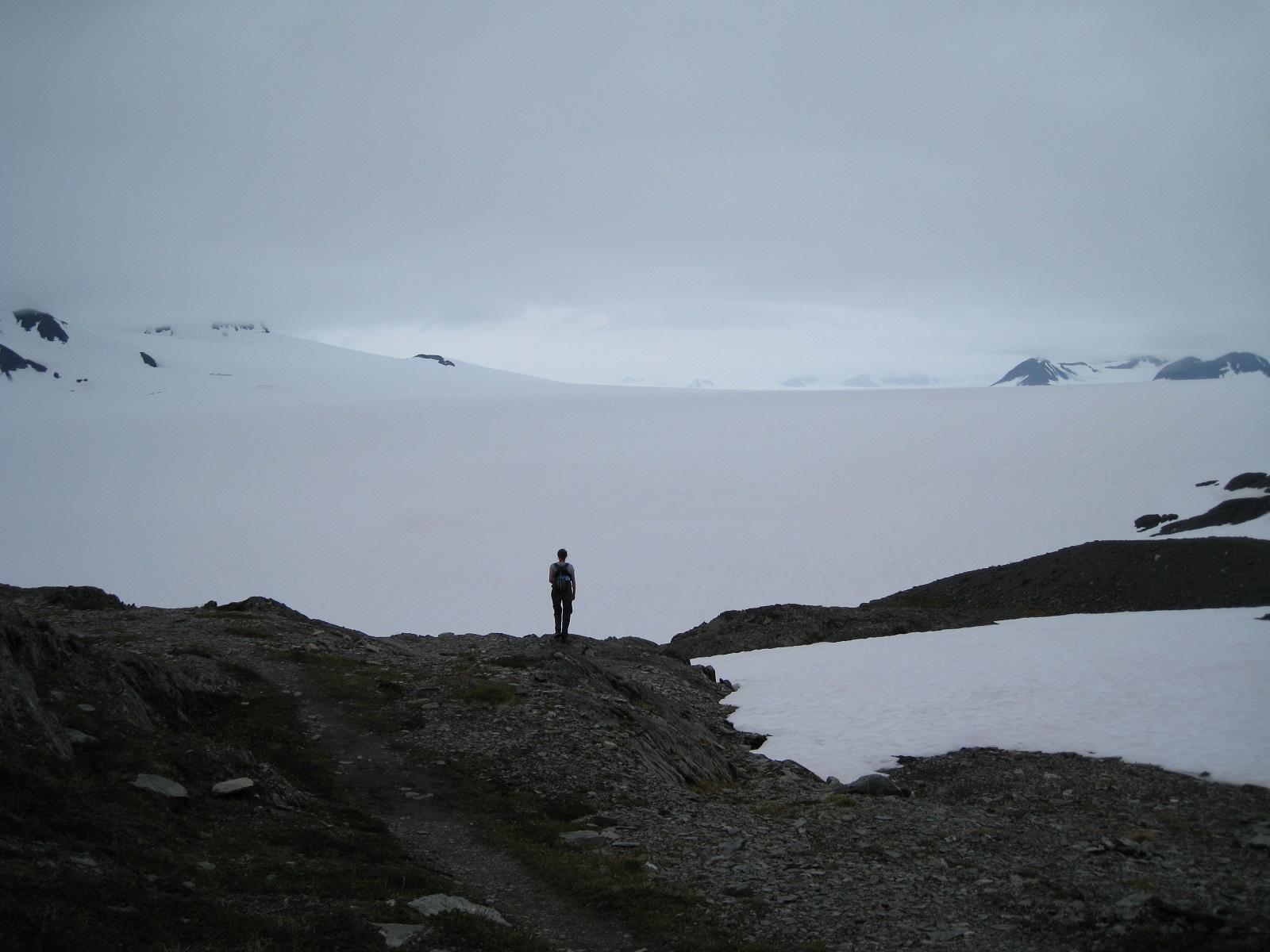 Harding Ice Field, Alaska