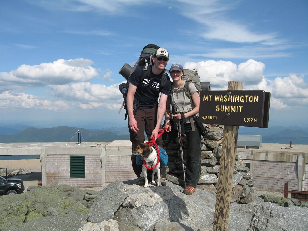 The day we hiked Mt Washington the weather was perfect and visibility was great. We got lucky, this is pretty rare.