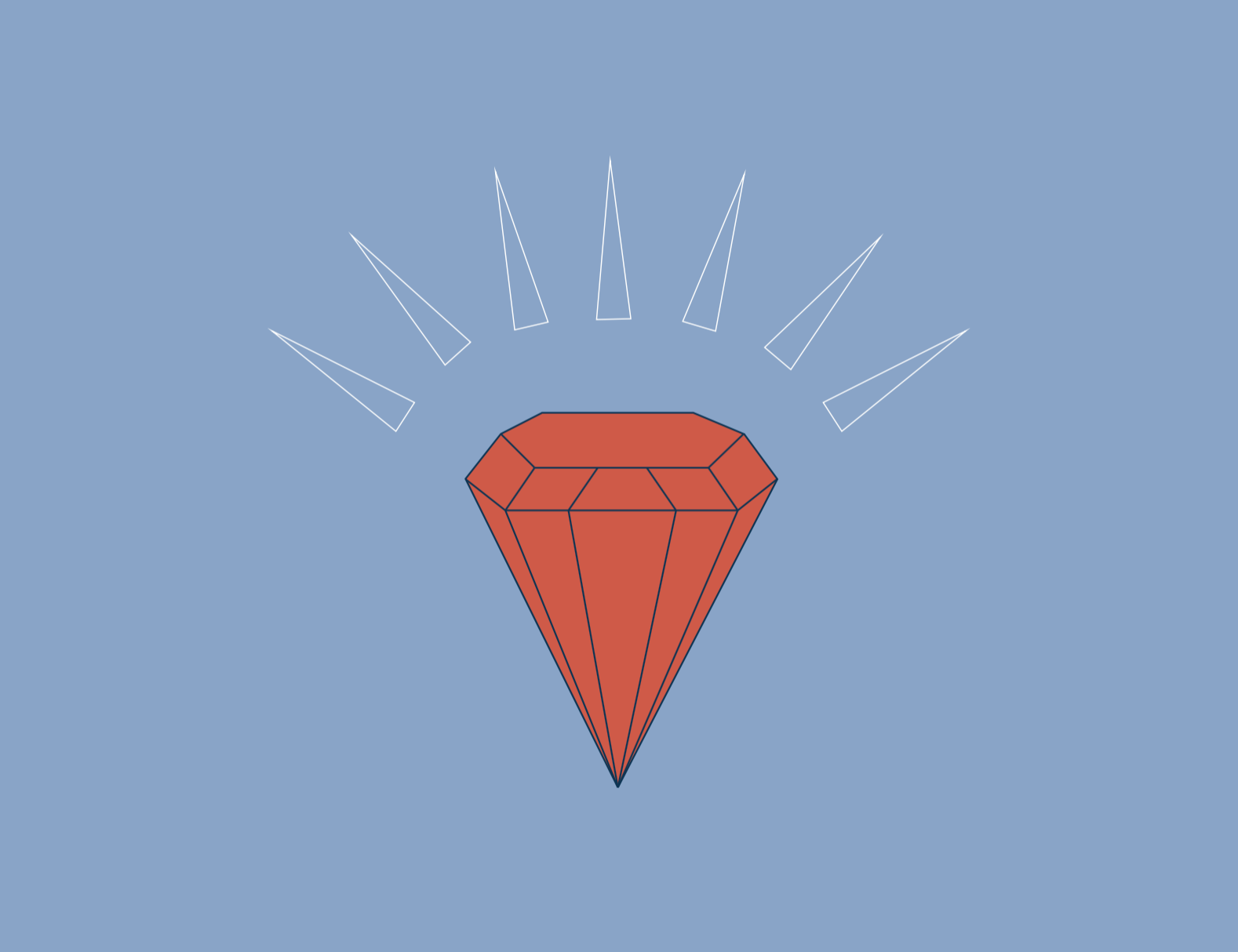 visual elements : diamond icon
