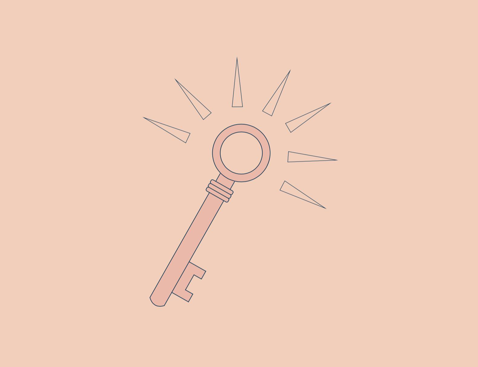 visual elements : key icon