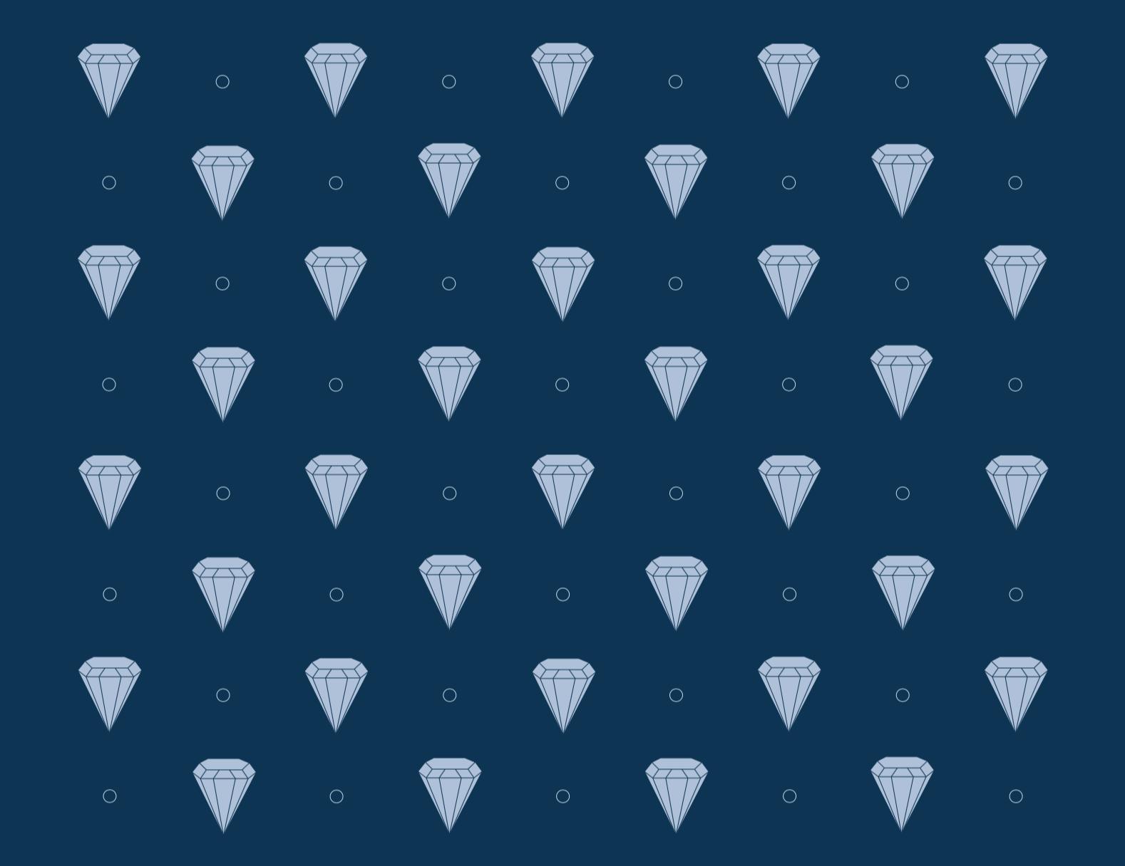 visual elements : diamond pattern
