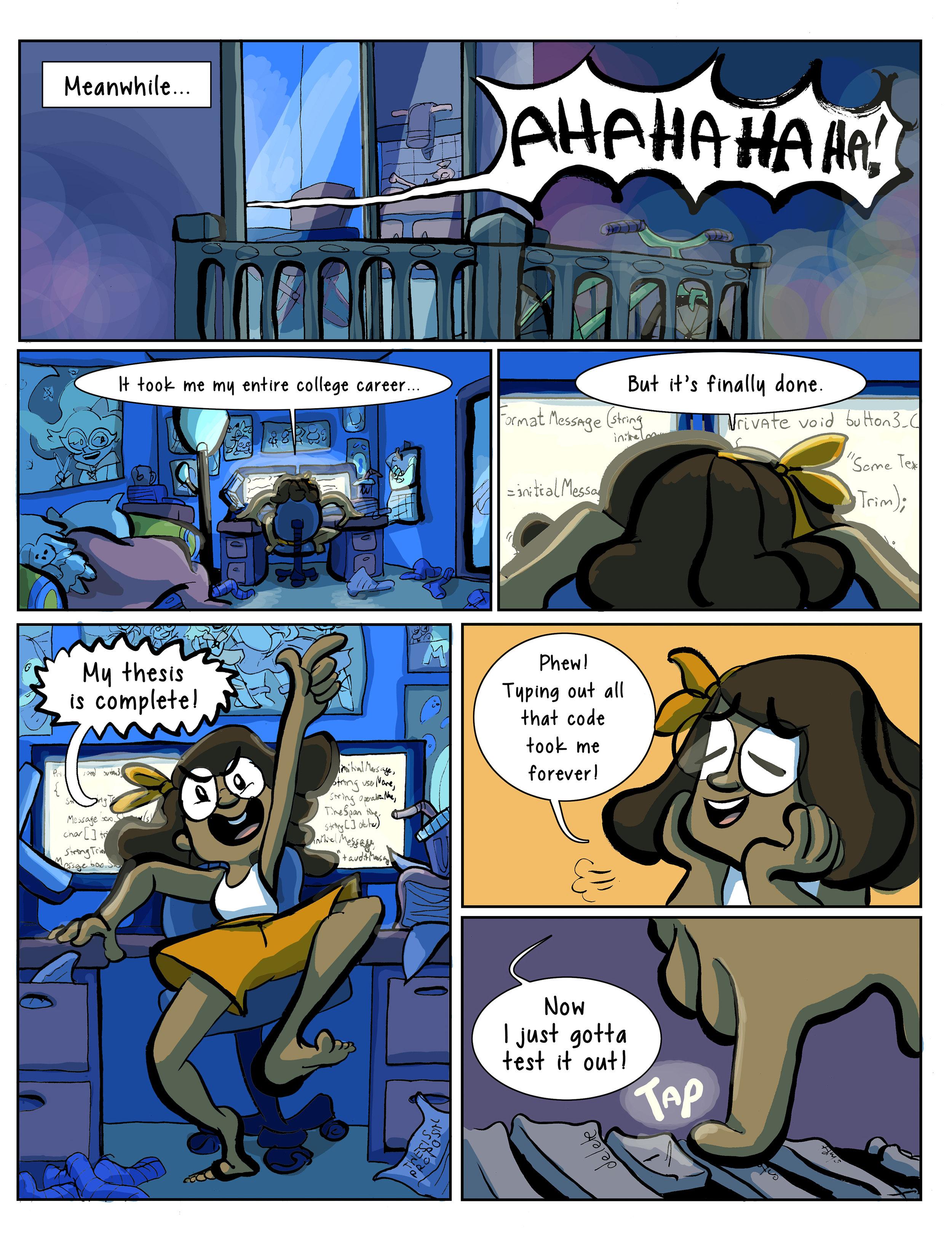 Super Ghost Girl pg 5