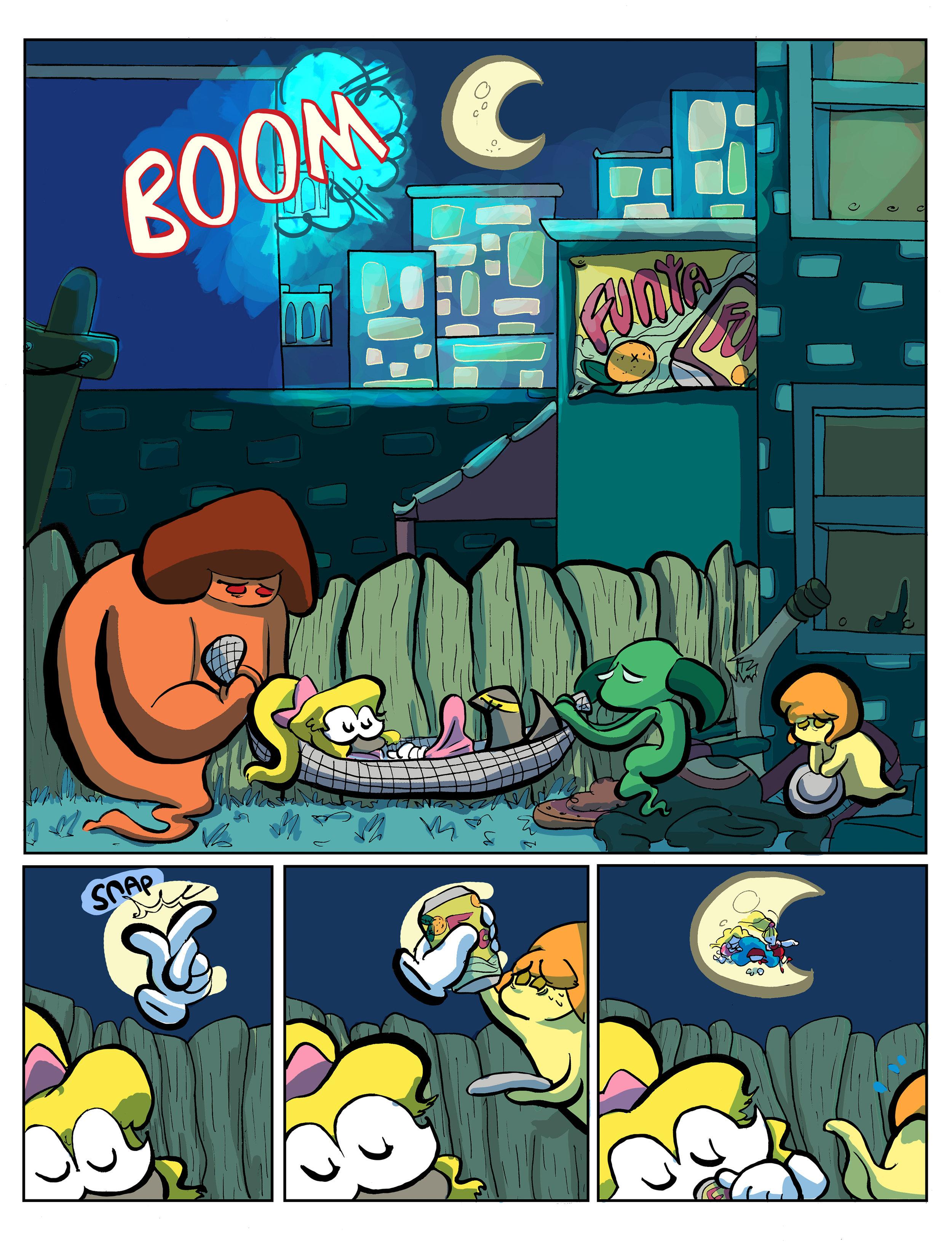 Super Ghost Girl pg 7