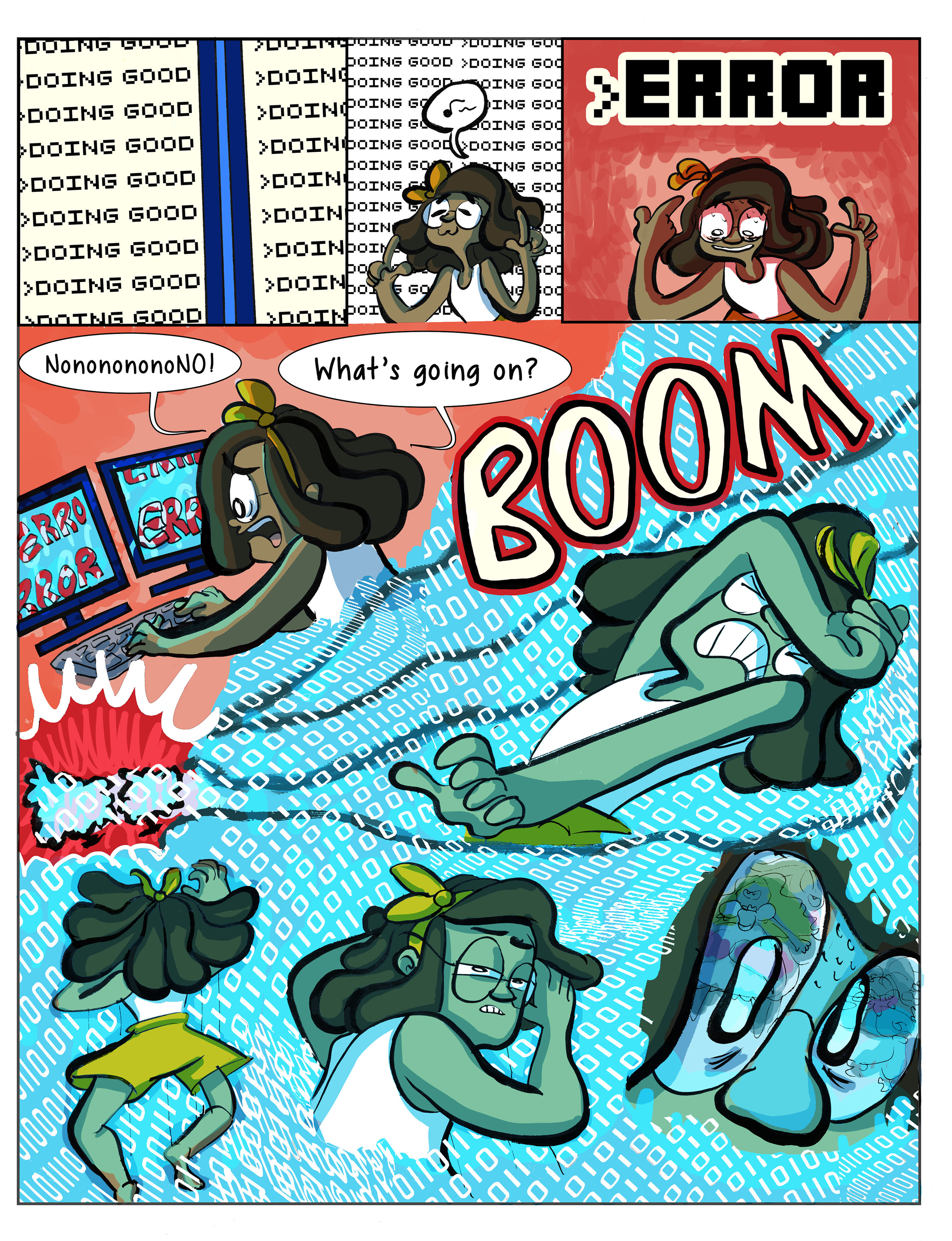 Super Ghost Girl pg 6