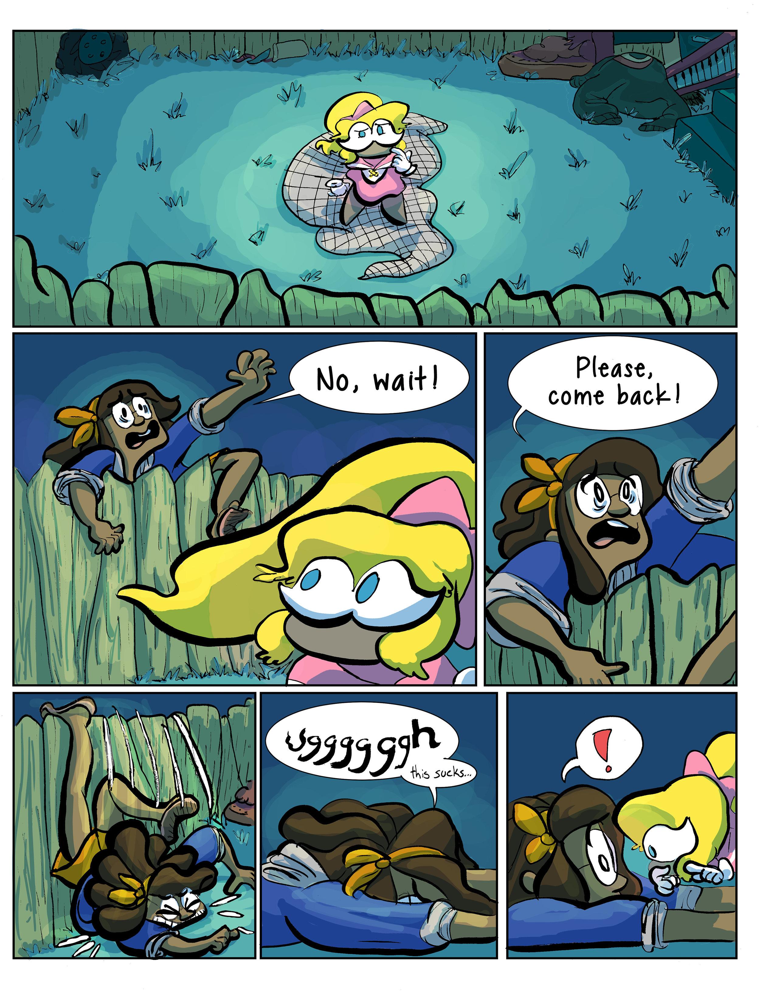 Super Ghost Girl pg 11