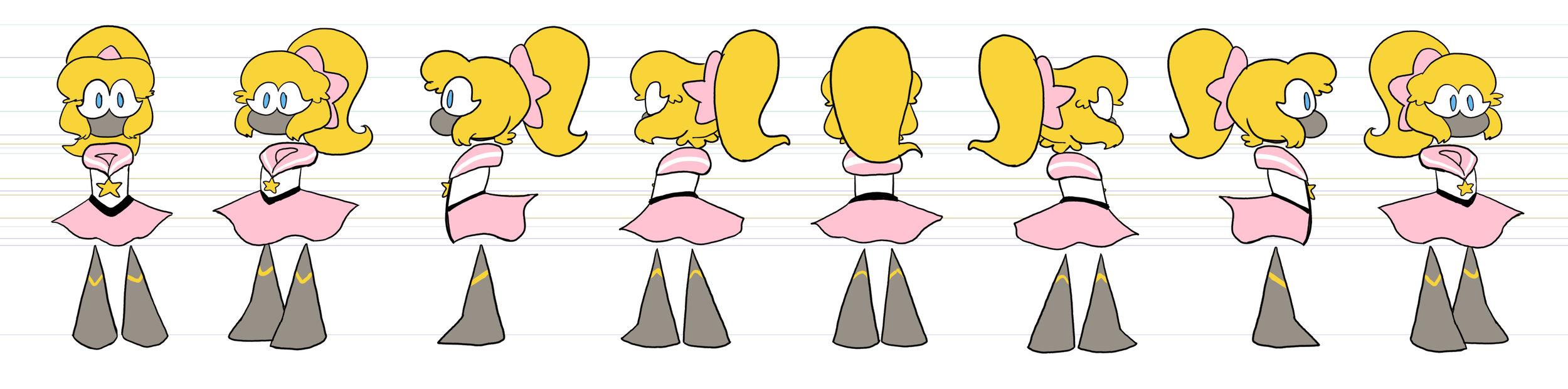 SGG Super Ghost Girl Character Sheet