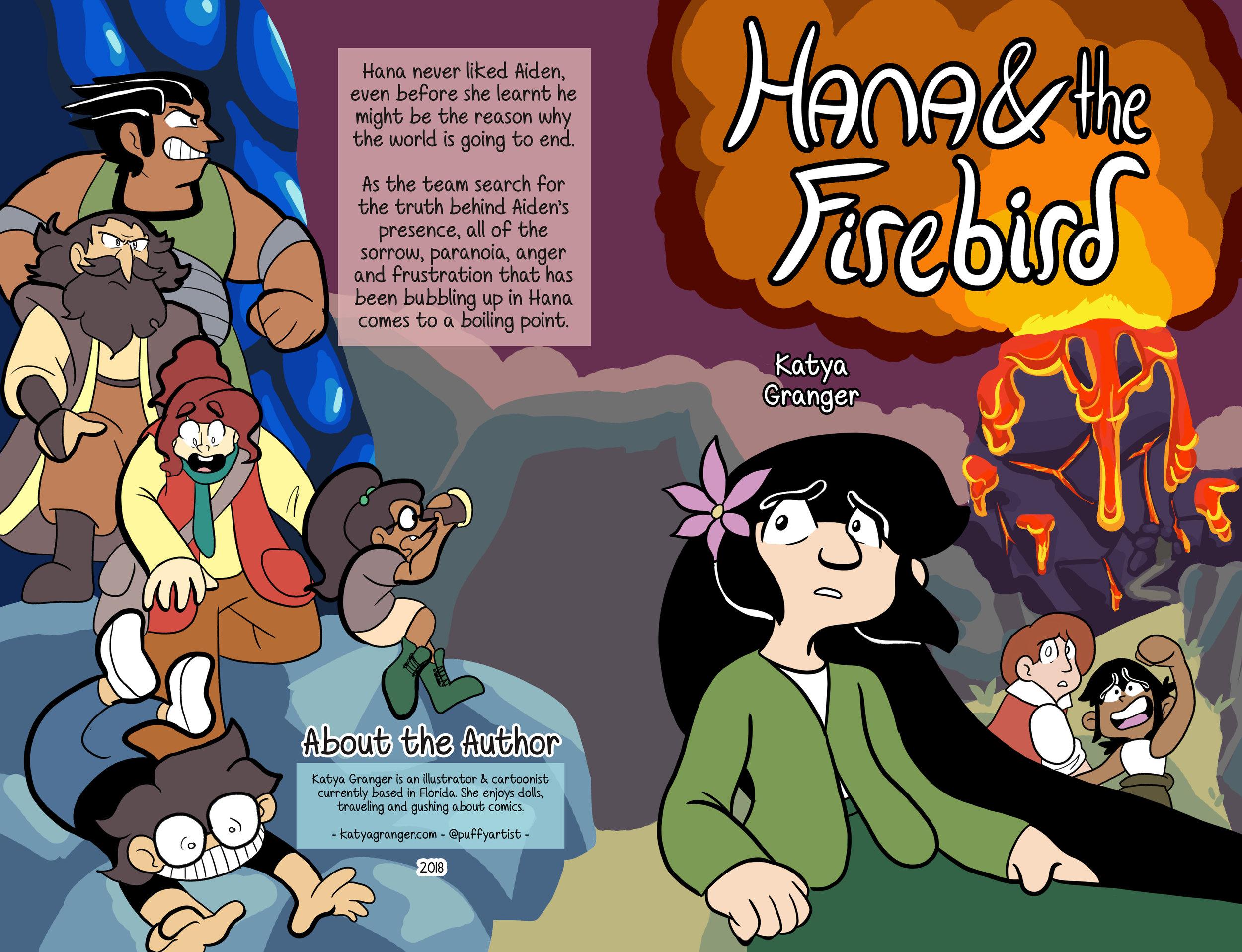 Hana and the Firebird Book Cover