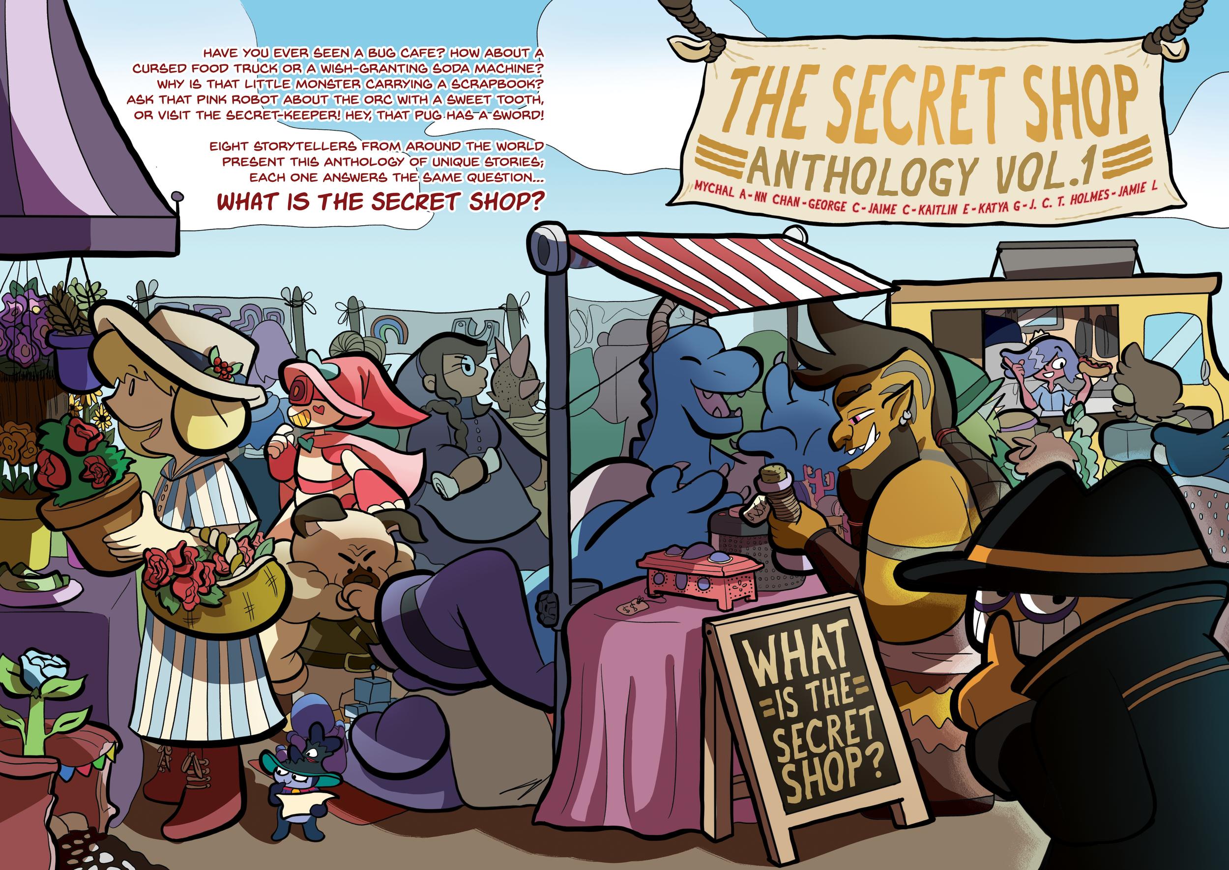 Secret Shop Book Cover