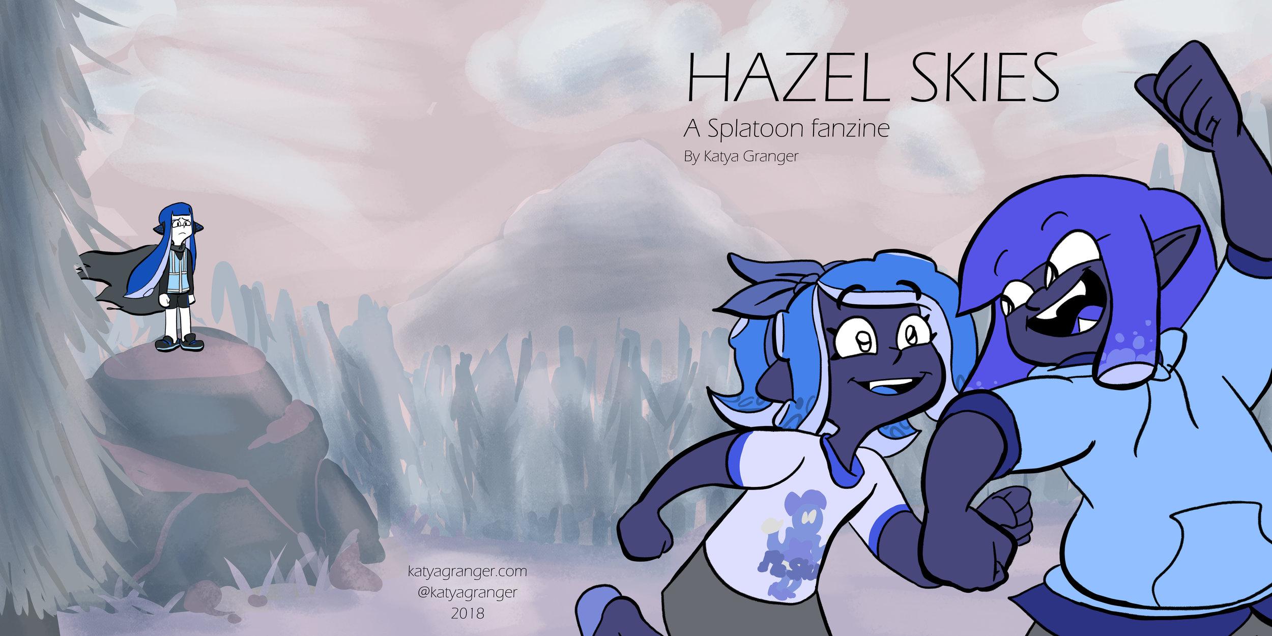 Hazel Skies Book Cover