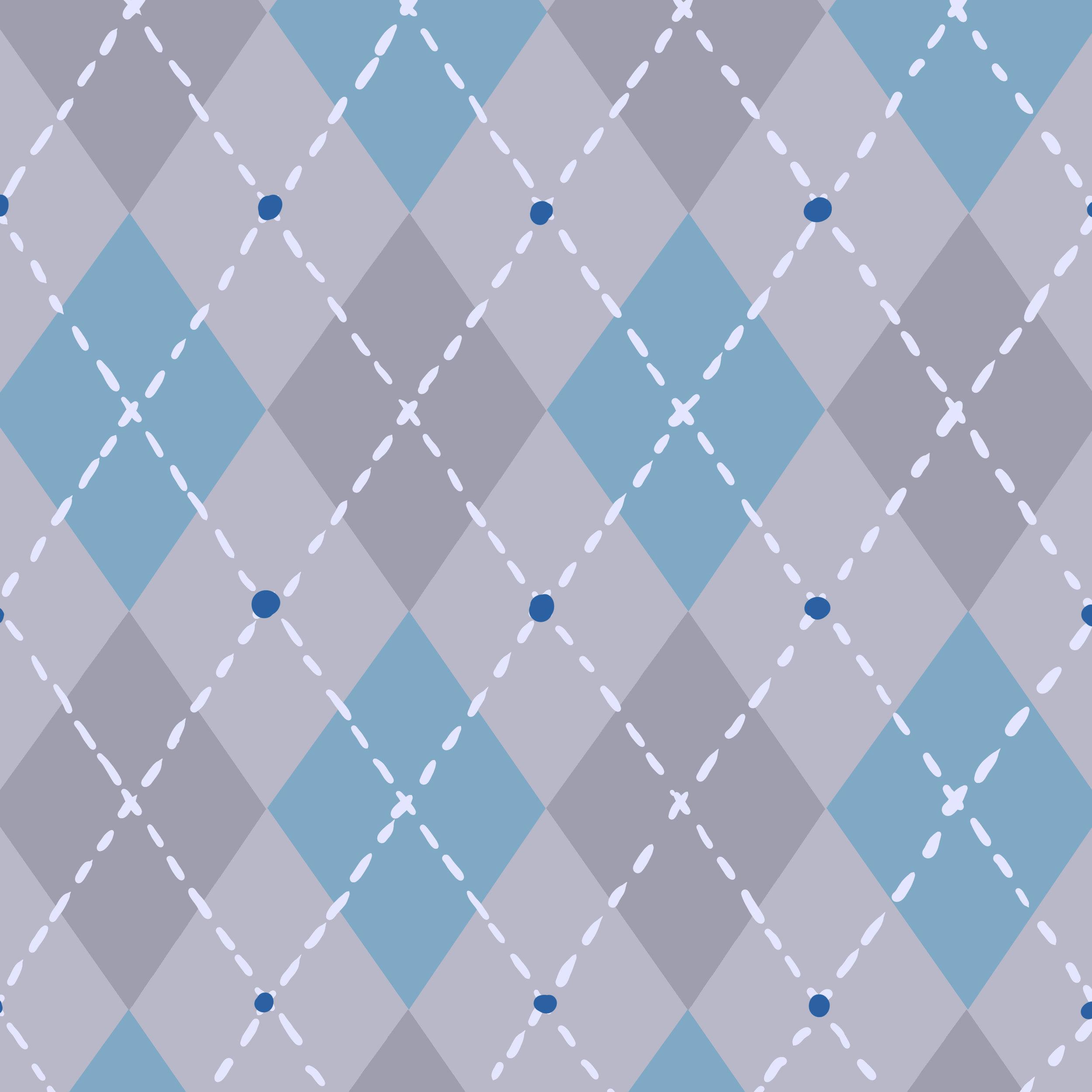 Hazel Skies Interior Pattern