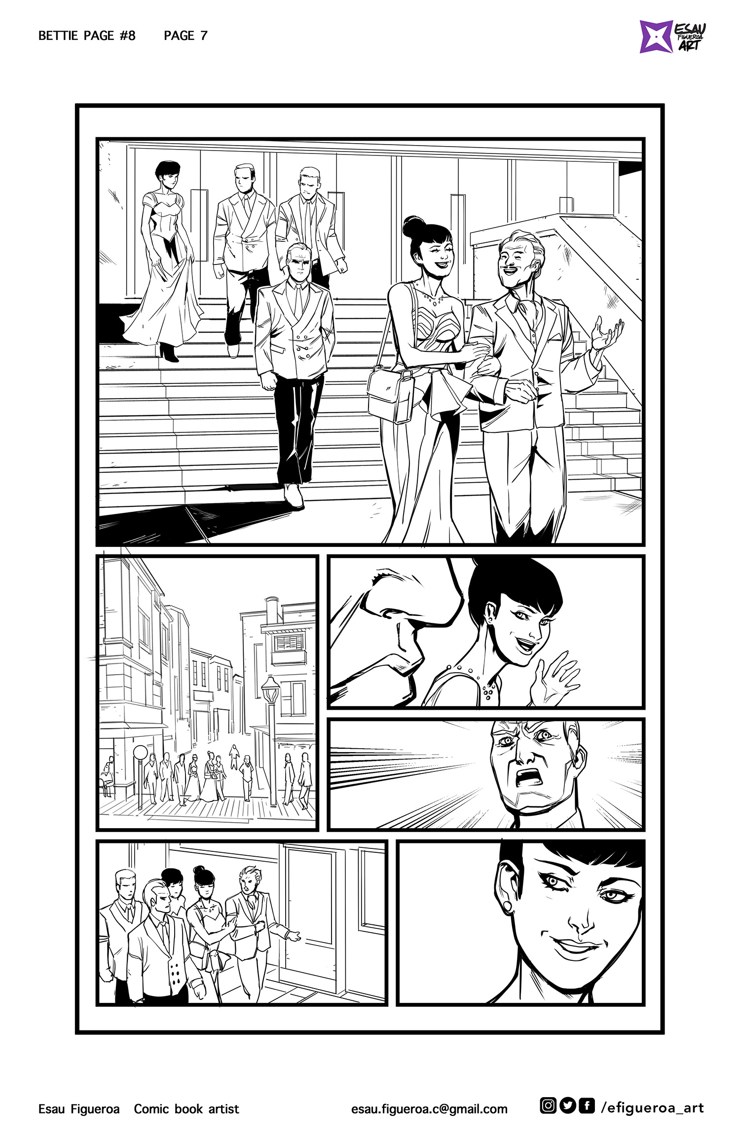 Bettie Page #8 pg. 7