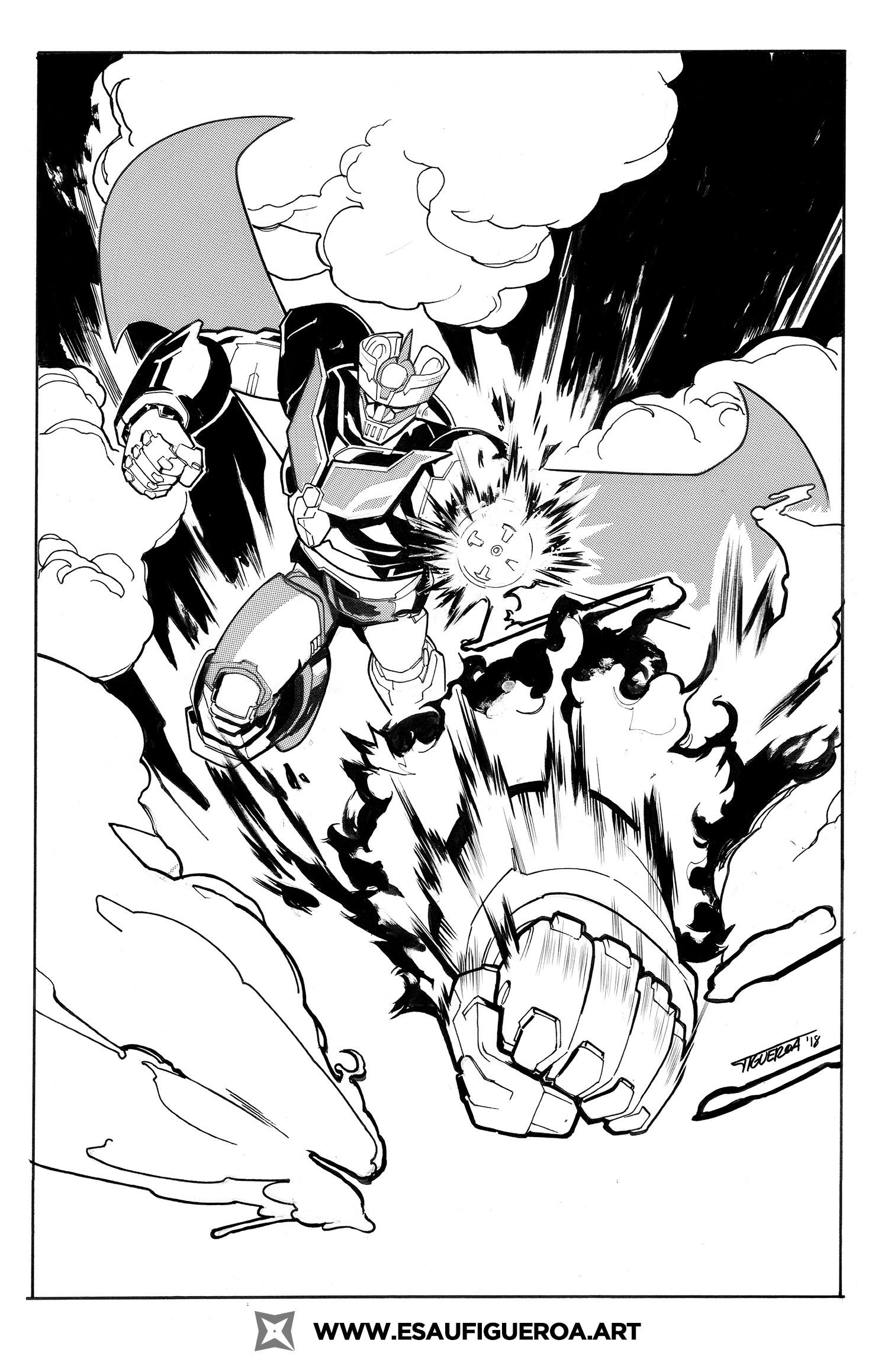 Rocket Punch!!! b/w