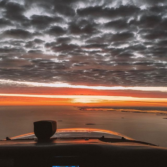 Early morning flight to Onslow to pick up water samples to send to Perth; one of our many charter flights 🛩🌅👌🏽 Contact us with your charter requests!