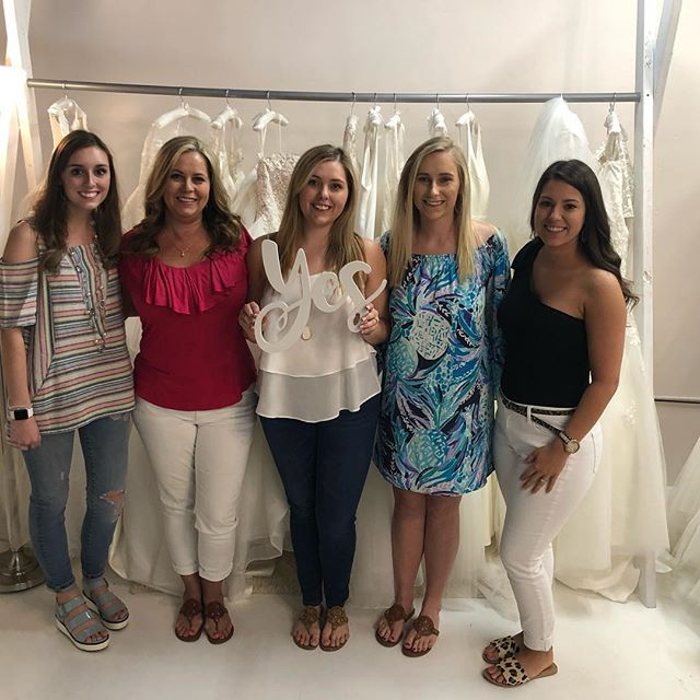 Oh Bailey, you will be the most gorgeous bride on your big day!!!💗thank you for letting Rush Bridal help you choose your dream dress💗
