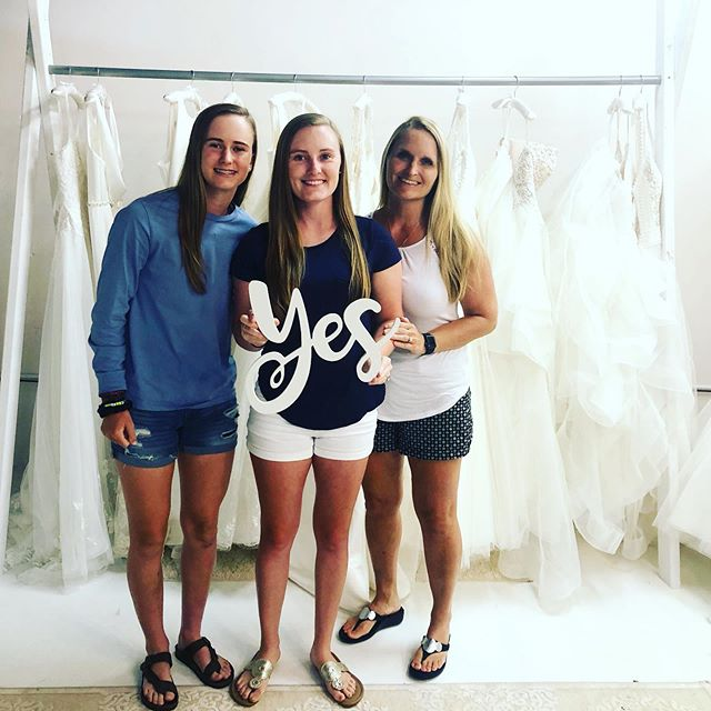 Adrian... such a beautiful bride!! Thank you for letting us help you choose the most important dress of your life 💗 What an honor it is to be a part of your wedding day!!! #rushbridalco #110mainst #leesvillesc