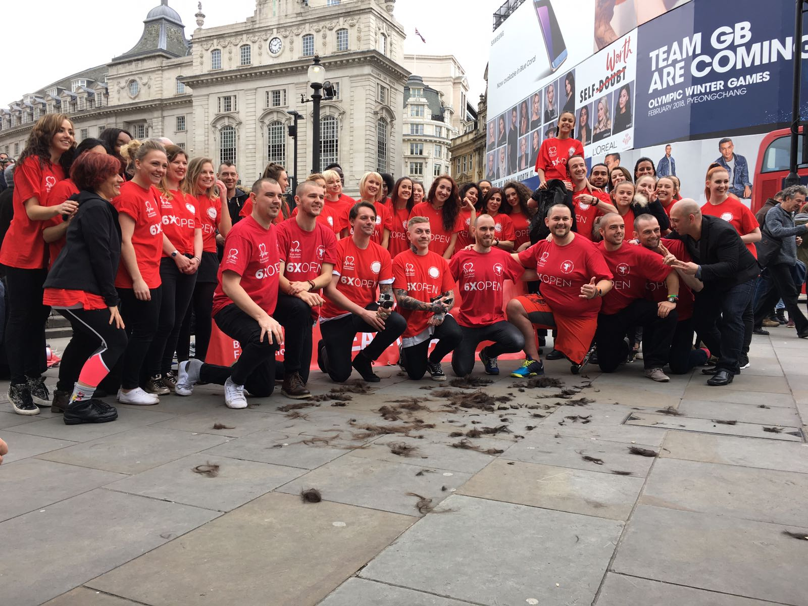 SIX TIMES OPEN + BRITISH HEART FOUNDATION  | EVENT MANAGER