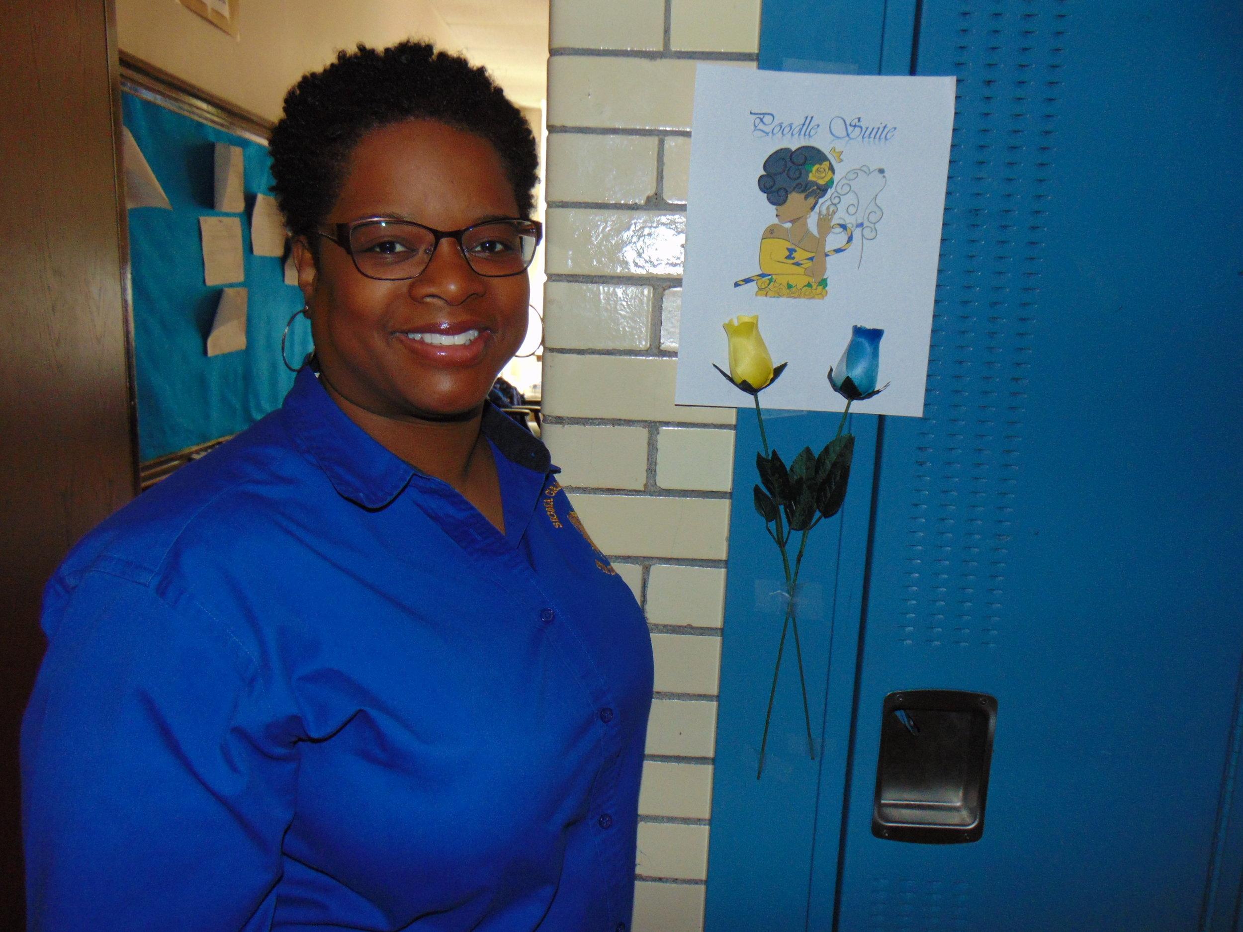 Tracy Oray,   Assistant Grammateus  of   Eta Xi Sigma Alumnae Chapter of Sigma Gamma Rho Sorority Inc.
